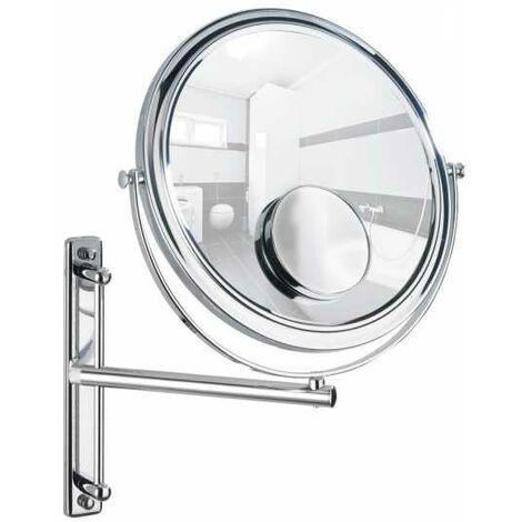 Wall-mounted cosmectic mirror Bivona WENKO