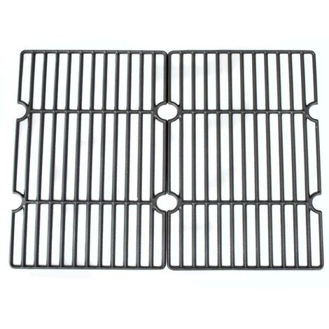 CosmoGrill Cooking Grate set of two compatible with Charcoal BBQ - Black