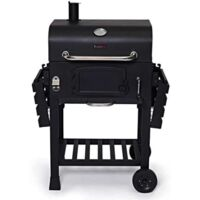 CosmoGrill Outdoor Smoker Barbecue Charcoal Portable BBQ Grill Garden