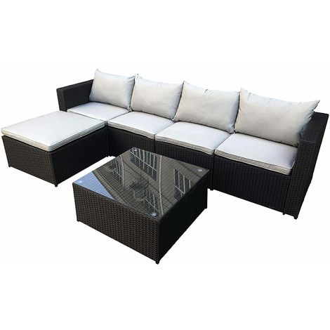 Phenomenal Cosmoliving Rattan Furniture Set For In Outdoors Miami Cjindustries Chair Design For Home Cjindustriesco