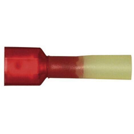 Cosse à languette mâle avec gaine thermorétractable, entièrement isolée D23073