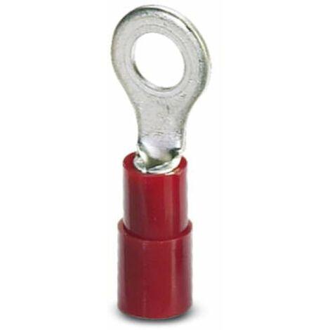 Cosse à oeillet Phoenix Contact C-RCI 1,5/M6 3240020 Section max.: 1.50 mm² Ø du trou: 6.5 mm partiellement isolé rouge 100 pc(s) D90649