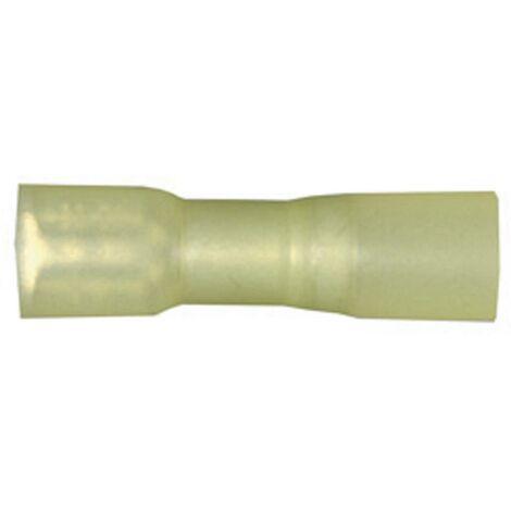 Cosse clip 6.3 mm x 0.8 mm Vogt Verbindungstechnik 3967h avec gaine thermorétractable 180 ° entièrement isolé jaune 1 pc(s) D23086