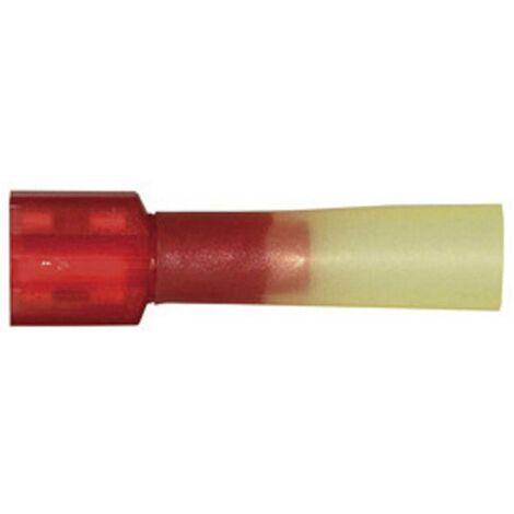 Cosse clip femelle avec gaine thermorétractable, totalement isolée D23067