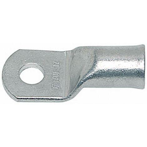 Cosse de câble tubulaire Klauke 704F6 180 ° M6 25 mm² Ø du trou: 6.5 mm 1 pc(s) D94033