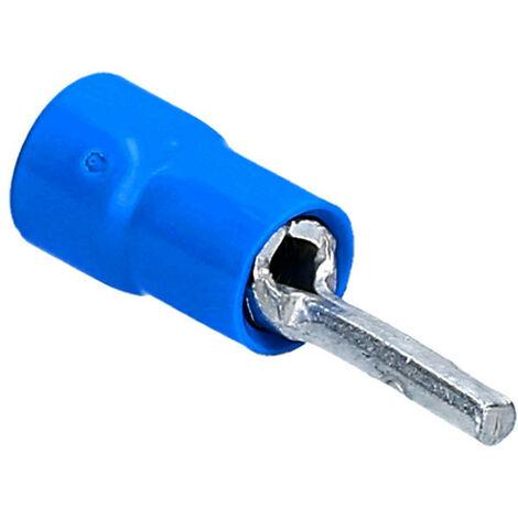 Cosses preisolato décembre avec le connecteur de 2,5 mm de Longueur de 10mm Bleu BF-P10