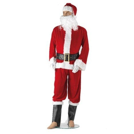 Costume Babbo Natale.Costume Babbo Natale Taglia L Kaemingk