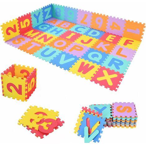 86tlg Puzzlematte Kinder Spielteppich Spielmatte Bodenmatte Lernteppich