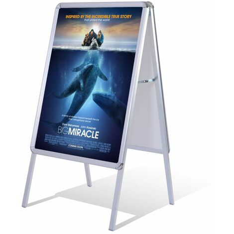 Costway A1 Kundenstopper Plakatstaender Werbetafel Gehwegaufsteller
