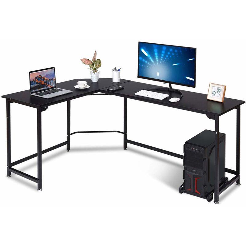 Eckschreibtisch Winkelschreibtisch Computertisch Bürotisch Arbeitstisch PC Büro