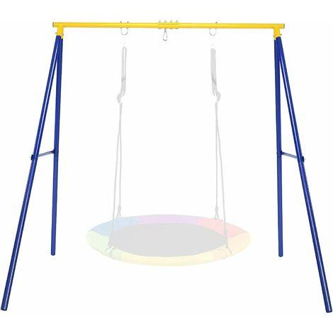 """main image of """"COSTWAY Estructura de Metal para Columpio, Aguanta hasta 250 kg Estructura en A Extra Grande en Acero Resistente"""""""