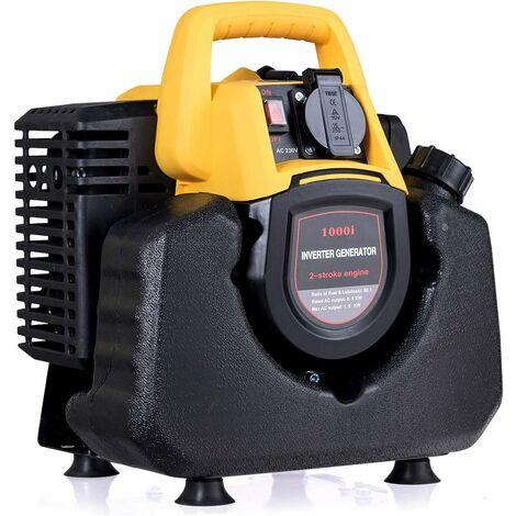 COSTWAY Générateur Electrique à Essence 1000 W Groupe Electrogène Générateur Portable Electrique Tension : 230 V Dimension : 320 x 250 x 330