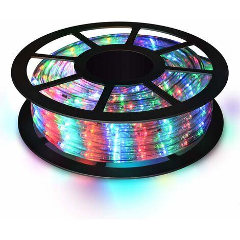 """main image of """"COSTWAY Guirlande Lumineuses Ruban Tube LED 30m,1080 Ampoules Décoration Intérieur/Extérieur pour Salle, Jardin, Noël, Mariage Multicolore"""""""