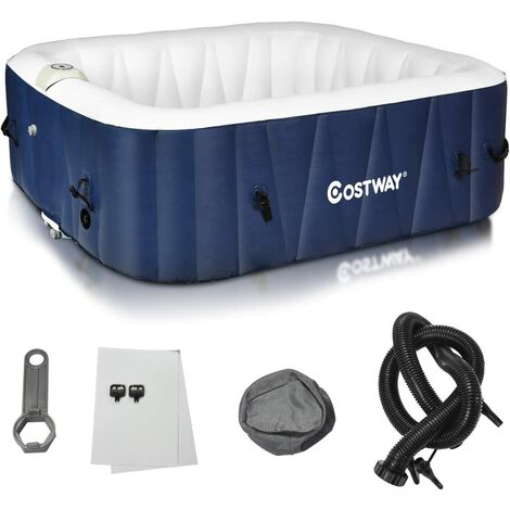 COSTWAY Jacuzzi Gonflable Carr