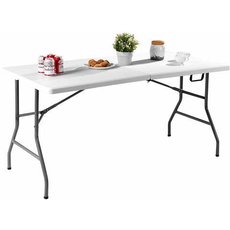 COSTWAY Klapptisch Campingtisch Falttisch Gartentisch Koffertisch Biertisch Esstisch Balkontisch Tisch klappbar M