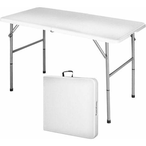 COSTWAY Klapptisch Campingtisch Falttisch Gartentisch Koffertisch Biertisch Esstisch Balkontisch Tisch klappbar S