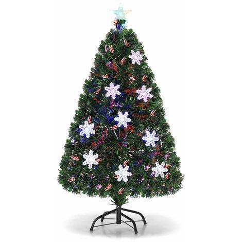 costway led weihnachtsbaum kuenstlicher tannenbaum. Black Bedroom Furniture Sets. Home Design Ideas
