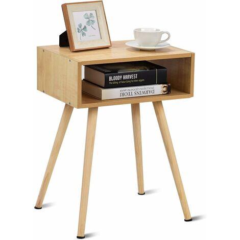 Beistelltisch Nachtschrank Nachttisch Nachtkommode Telefontisch mit 1 Schublade