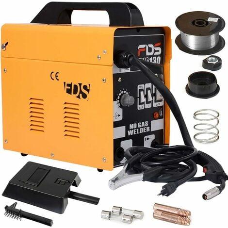 COSTWAY Poste à Souder Mig Inverter avec Gaz Soudage Electrique Kit De Soudage Machine à Souder