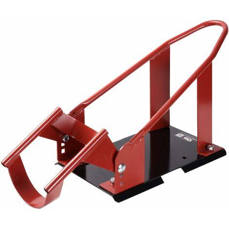 COSTWAY Support de Roue Avant de Moto Cale de Roue de Moto Amovible S'adapte aux Diamètres de Pneu de 43-53,5CM
