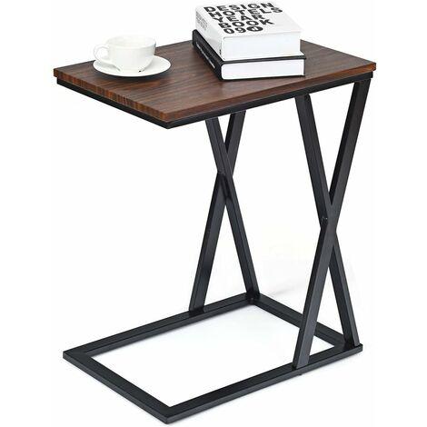 Costway Table D Appoint Table Basse De Salon Petite Desserte Bout