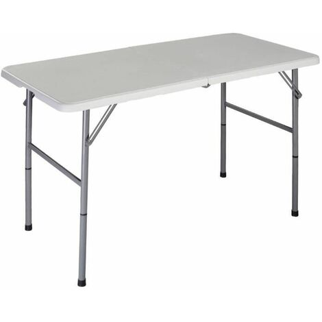 COSTWAY Table Pliante en Plastique, pour Camping Jardin ...