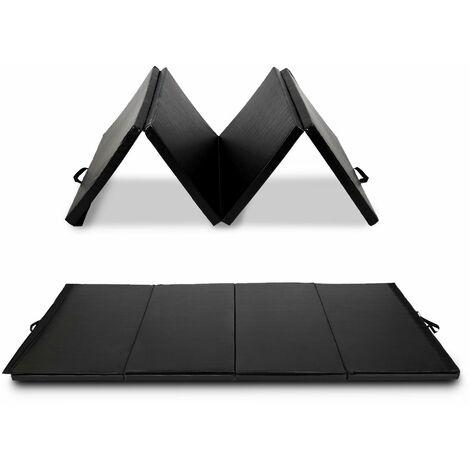 COSTWAY Weichbodenmatte Turnmatte klappmatte Yogamatte Gymnastikmatte Pilatesmatte Trainingsmatte Uebungsmatte klappbar tragbar 300x120x5cm