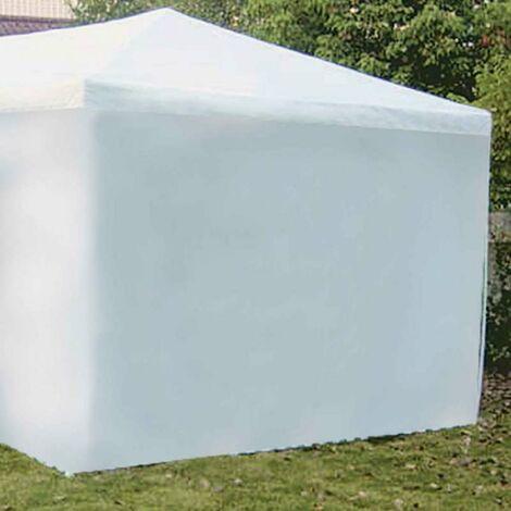 Coté de tente mur blanc 2.9m x h 1,90m