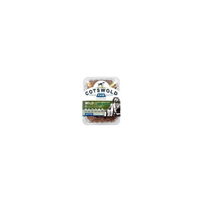 Image of Cots Wild Mince Ven&Duck 500g - 566435 - COTSWOLD