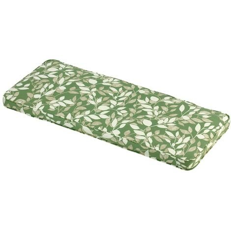Cotswold Leaf 2 Seater Bench Cushion Outdoor Garden Furniture Cushion