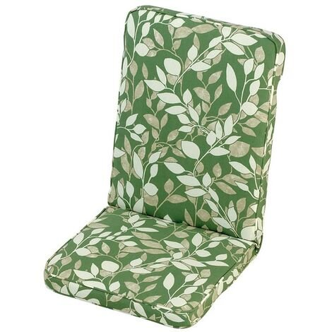 Cotswold Leaf Low Recliner Cushion Outdoor Garden Furniture Cushion