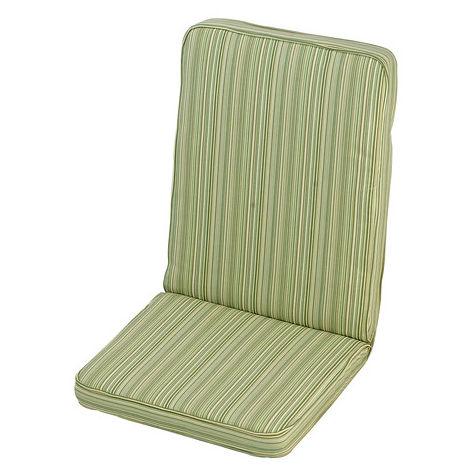 Cotswold Stripe Low Recliner Cushion Outdoor Garden Furniture Cushion