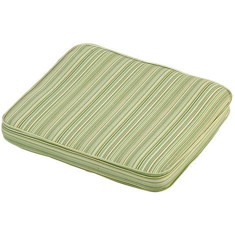 Cotswold Stripe Standard Carver Cushion Outdoor Garden Furniture Cushion
