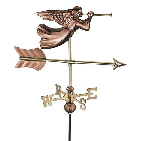 Cottage Angel Copper Weathervane