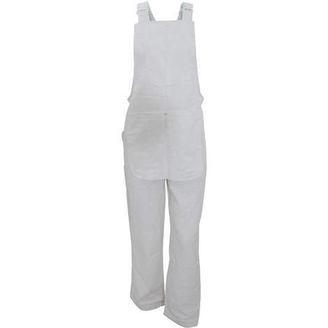 Dickies - Salopette de travail - Homme (S) (Blanc)