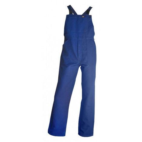 Cotte à bretelles 100% coton bleu bugatti BASTAING LMA (l) - Taille : L
