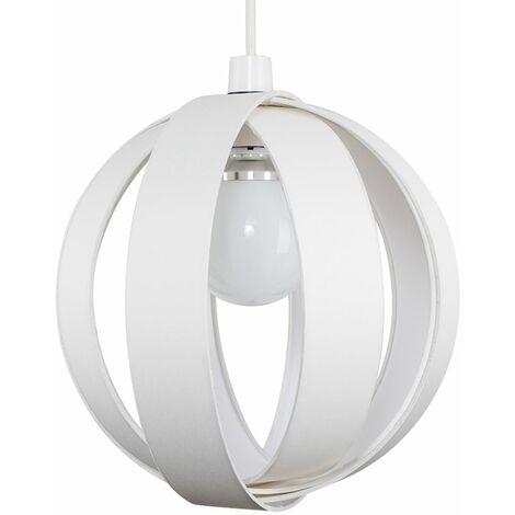 Cotton Cocoon Globe Ceiling Pendant Light Shade