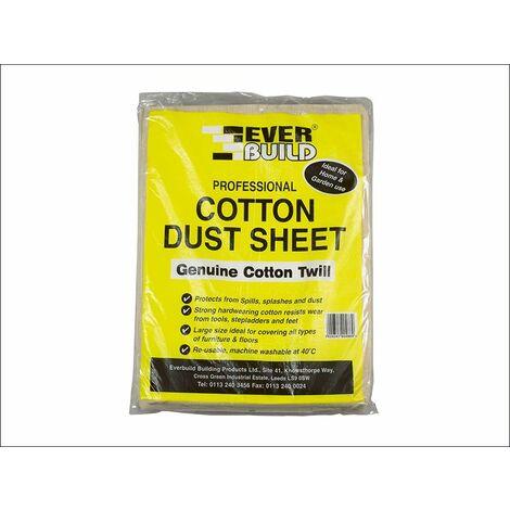 Cotton Dust Sheet 3.6 x 2.7m EVBDUST