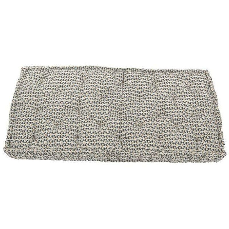 Coussin de palette - Coton - Imprimé Africa Boheme - 60x120x15 cm - Cotton Wood