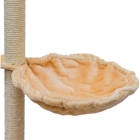 Couchette animale beige 45 cm