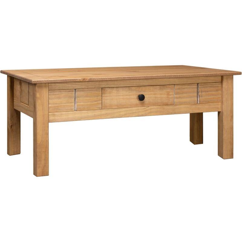 Zqyrlar - Couchtisch 100 x 60 x 45 cm Massivholz Panama-Kiefer