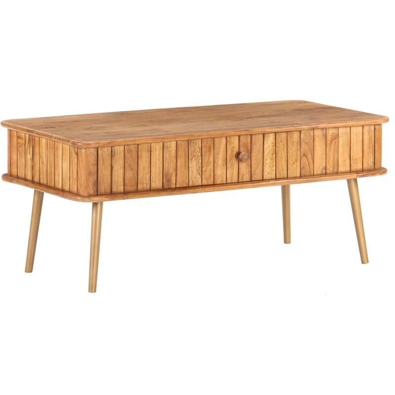 Couchtisch 100x50x40 cm Akazie Massivholz