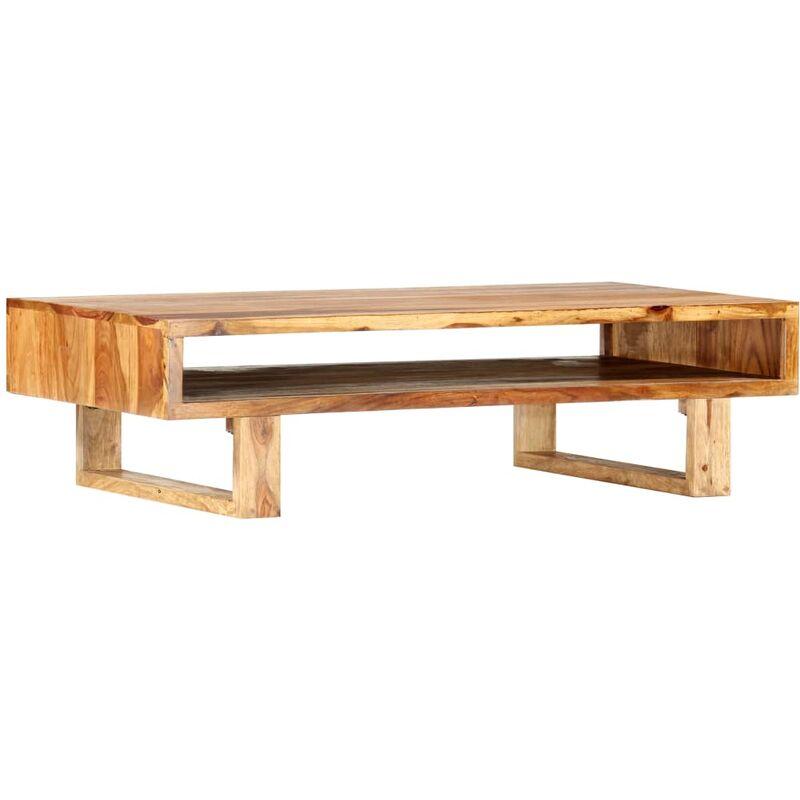 Couchtisch 110×55×30 cm Massivholz