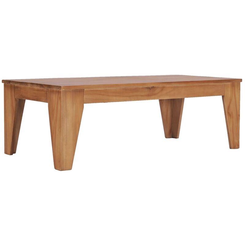 Vidaxl - Couchtisch 120 x 60 x 40 cm Teak Massivholz