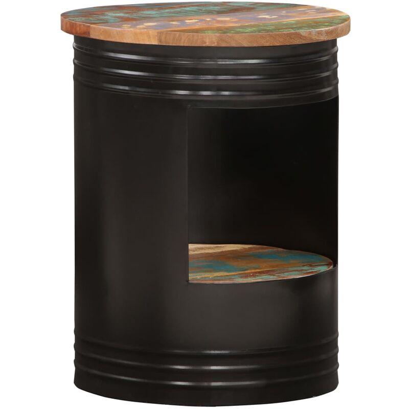 Couchtisch 43 x 55 cm Recyceltes Massivholz - VIDAXL