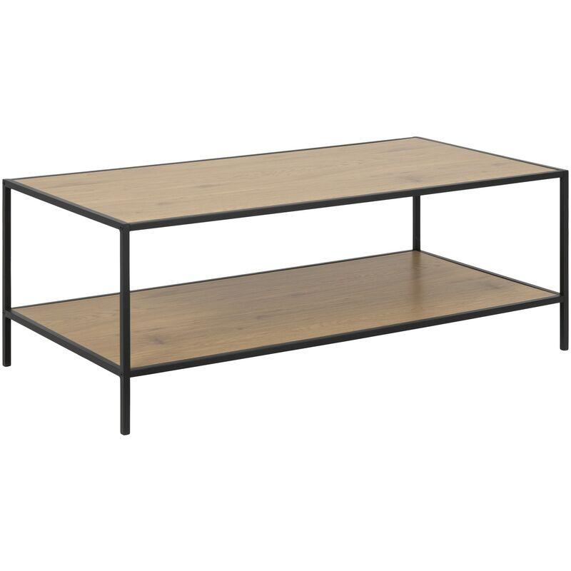 Pkline - Couchtisch Sea 60x120 Eiche Holz Wohnzimmer Tisch Sofatisch Beistelltisch 11-0000088465
