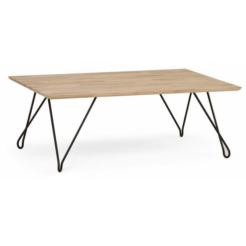 Fun Möbel - Couchtisch Tisch GIADA Buche Massivholz 120x80 cm