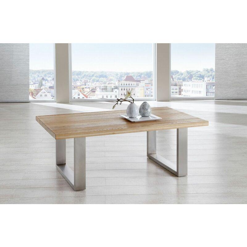 Fun Möbel - Couchtisch Tisch KENO Eiche vollmassiv geölt 120 x 80 cm