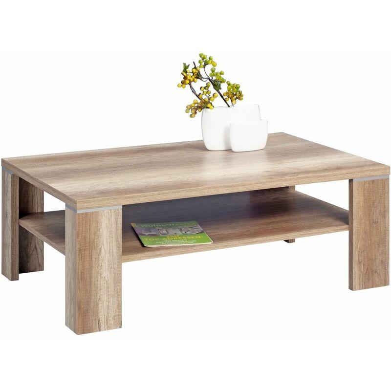 Fun Moebel - Couchtisch Tisch - London -110x70 cm Wildeiche Trüfel