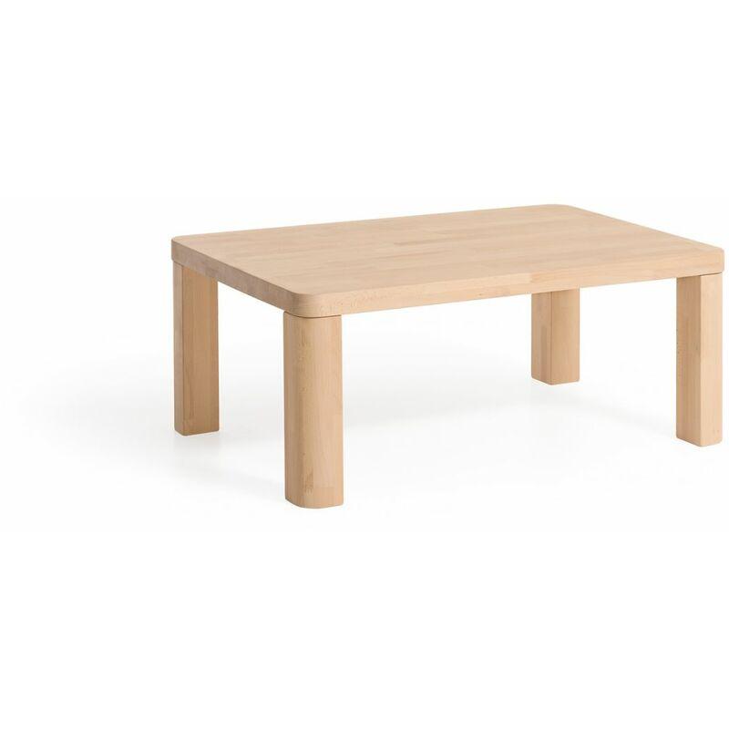 Fun Möbel - Couchtisch Tisch OSMO XL Eiche Massivholz 80x80 cm